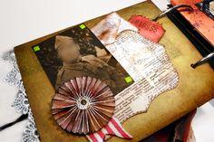Inspiración Scrapbooking Origami: ÁLBUM FAMILIAR