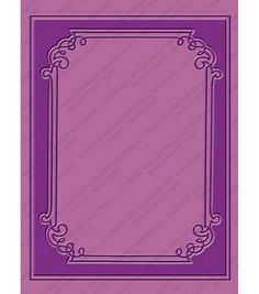 Cuttlebug A2 Embossing Folder Grace's Frame