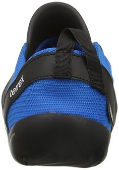 quality design e1408 bc6a0 adidas Outdoor Men s Climacool Jawpaw Lace Water Shoe, Shock Blue White  Black,