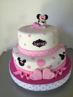 Baby Minnie Cake - Torta Minni Bebe