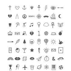 Finger Tattoos Framed Art Print by Alisha Jensen | Society6