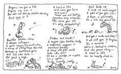 Hand-signed open edition, by Michael Leunig Sizes available - x - x - x Paper quality Museo Portfolio Rag (aka Crane Portfolio Rag) Museo's archival matte paper is co Get A Life, Buy Prints, Favorite Quotes, Inspirational Quotes, Feelings, Cartoons, January, Artists, Tea
