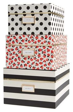 kate spade new york nesting boxes (set of 3) available at #Nordstrom
