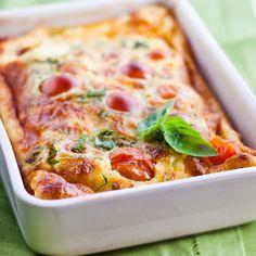 Clafoutis aux tomates cerises avec Maizena ® - © Martin Balme