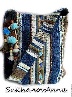 Женские сумки ручной работы. Бохо-сумка