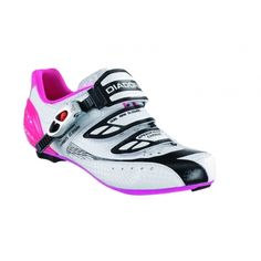Diadora Speed Racer 2 Womens Cycling Shoes - White Violet