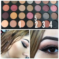 #Morphe 35F #Eyeshadow #Makeup #FallLook #NightOut #SandraMixh #FirsfOfTheMonth #Dec2017