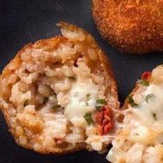 Tomato-Basil Arancini Recipe
