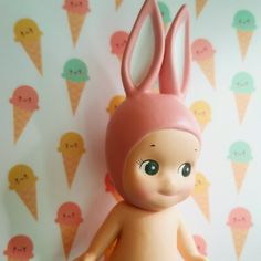 ♥ Miss Cutiepie Inspiration - Freebies & Inspiration ♥: Lundby dolls house makeover - A home for Sonny Angels icecream wallpaper