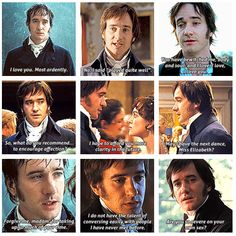 Favorite Mr. Darcy quotes