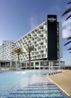 Hard Rock Hotel Ibiza #ibiza #inspirationibiza #acommodation