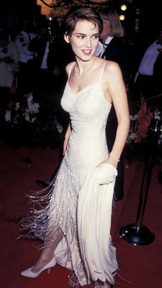 Winona Ryder Forever! Take a Trip Down Memory Lane With Her Best Style Moments - March 21, 1994  - from InStyle.com