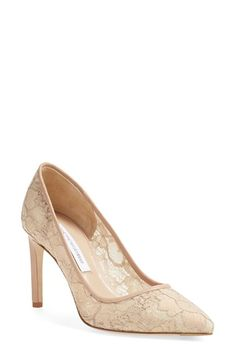 DIANE VON FURSTENBERG 'London' Pointy Toe Pump (Women). #dianevonfurstenberg #shoes #pumps