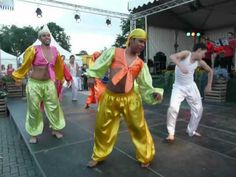 Op Roakeldais Costa Rican dancers 3 2012