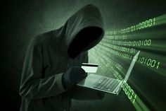 Photo about Internet theft concept - Man holding credit card with laptop on his hand. Image of danger, internet, darkness - 38669627 E Commerce, Apps Fotografia, Internet Segura, Hire A Hacker, Identity Theft Statistics, Snapchat, Identity Protection, Social Security, Sensory Activities