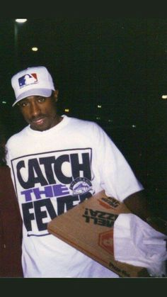 24 years ago today 2pac attended the KUBE 93 FM Summer Jam sporting a MLB hat and a Colorado Rockies t-shirt.