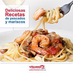 @VitamarPescados  te trate deliciosas  y fáciles recetas de pescados y mariscos. www.vitamar.com.co