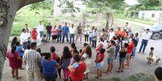 """Refrenda Seapal apoyo a la comunidad de """"El Aguacate"""""""