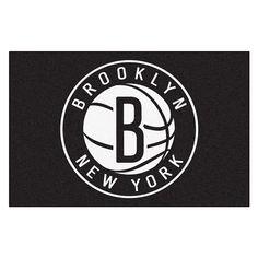 Brooklyn Nets NBA Starter Floor Mat (20x30)