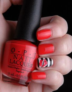 Fashion Polish: Guest Post : Marta from ChitChatNails rocks the boat with her amazing sailor mani