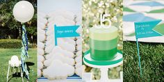 Christina Wright of Simply Modern Weddings usually plans events featuring a bride, a groom, and lots of Champagne. But for her son's first birthday bash, she proved she's equally adept at throwing parties for a decidedly underage set! Christina chose to