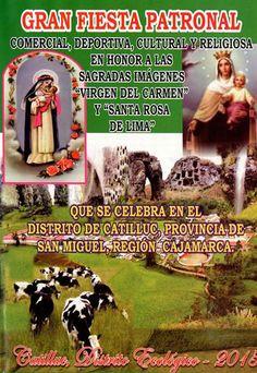 Fiesta Patronal en Catilluc - Cajamarca