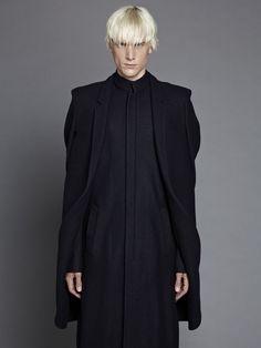 Thamanyah - wool boucle cape/coat