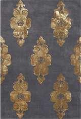 grey & gold rug...love
