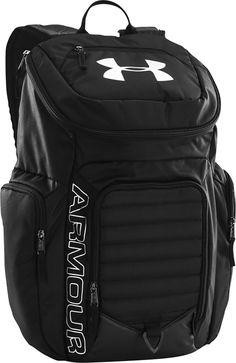 Under Armour - Undeniable II Laptop Backpack - Black - Angle_Zoom Luxury Handbags, Black Handbags, Leather Handbags, Laptop Backpack, Black Backpack, Under Armour Backpack, Cute Bags, Backpacker, Black Ankle Boots