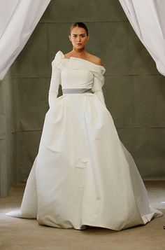 """Our 5 Favorite Looks from #CarolinaHerrera's New Wedding Dress Collection: """"Isadora"""" Ivory Ball Gown. http://news.instyle.com/photo-gallery/?postgallery=108875#3"""