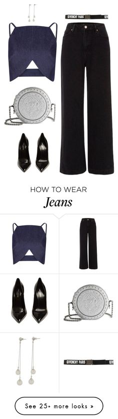 """Be nice, but be smart about it"" by xoxomuty on Polyvore featuring River Island, Balmain, Yves Saint Laurent, Givenchy, ootd and polyvoreOOTD"