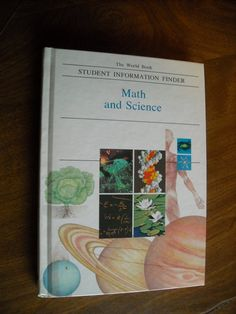 Math and Science Student Information Finder World Book For Sale At Wenzel Thrifty Nickel ecrater store