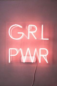 Neon GRL PWR