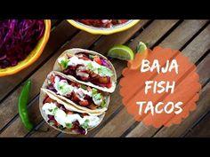 Baja Fish Tacos (Fried Fish Tacos)   Just Eat Life - YouTube