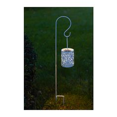 SOLVINDEN Solarlaterne, LED, mit Erdspieß weiß mit Erdspieß weiß -