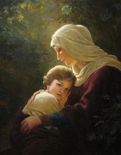 Andrey Shishkin: María y el Niño.