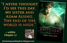 PRODIGAL by Jody Wallace (@realmeankitty) -- Read my #bookreview here: http://frommetoyouvideophoto.blogspot.com/2016/10/feasted-on-maelstrom-chronicles-book-3.html  #Purchase a copy here: -- Amazon (US) #Kindle :: http://amzn.to/2e0e786  Do you like my teasers? Find out how I can help you with Personal / Virtual Assistant Services here: http://fromjesstoyouservices.wordpress.com/  #scifiromance #JodyWallace #EntangledPublishing #WeNeedDiverseRomance