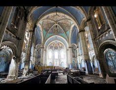 Abandonded Church, Detroit MI