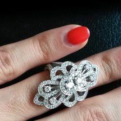 ⊱✦⊰ Mîɾą ⊱✦⊰ Fine Jewelry, Jewellery, Heart Ring, Bling, Jewels, Detail, Diamond, Instagram Posts, Pattern