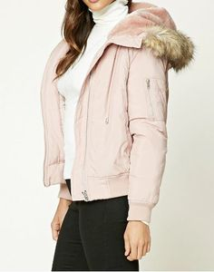 blush-faux-fur-bomber