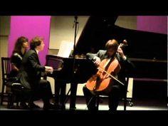 Franz Liszt Elegie No. 1, Guido Schiefen (cello), Eric Le Van (piano)