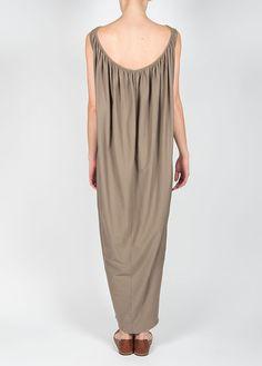 Black-crane---long-gathered-dress-in-light-grey-20150325033651
