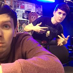 DAN AND PHIL ARE LIVE ON RADIO 1!! Come to http://bbc.co.uk/radio1 to hang out…