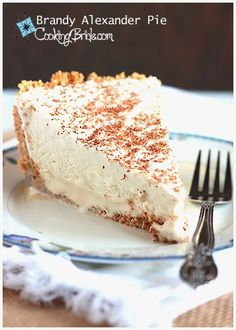 Frozen Kahlua and Brandy Pie: Easy and boozy.