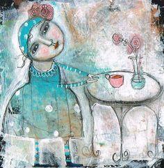 Kitty Jujube 'Tea Time' #2