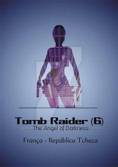 Tomb Raider minimalist poster + locations - part 6 by blackrainbowwwcn