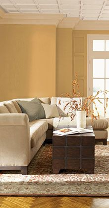 On the Sunny Side paint collection by ppg voice of color.