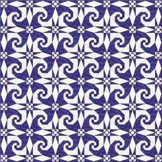 snail trail patchwork pattern - Google Search