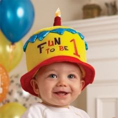 1st birthday hat