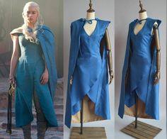 Halloween Game of Thrones Daenerys Targaryen Cosplay Dress Costume Party USA Daenerys Targaryen Kostüm, Danerys Targaryen Costume, Halloween Costume Game, Halloween Kostüm, Women Halloween, Cosplay Dress, Costume Dress, Game Of Thrones, Game Of Throne Daenerys